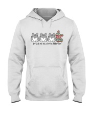 A Little Different Corgi Hooded Sweatshirt thumbnail