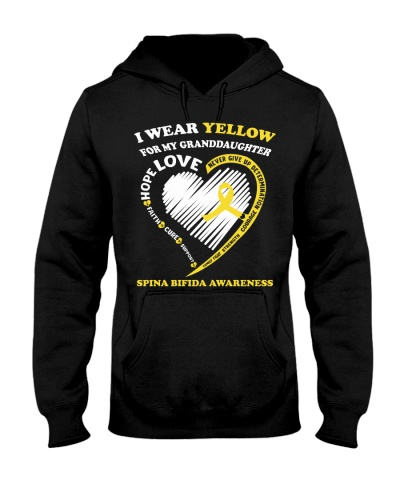 I wear yellow for my granddaughter