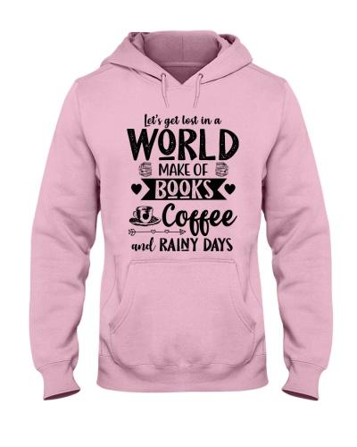 WORLD MAKE OF BOOKS COFFEE AND RAINY DAYS