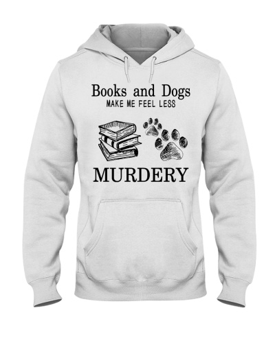 Books and dogs make me feel less murdery