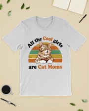 Cool Girls Are Cat Moms Classic T-Shirt lifestyle-mens-crewneck-front-19