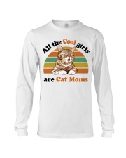 Cool Girls Are Cat Moms Long Sleeve Tee thumbnail