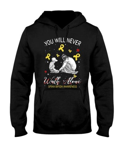 You will never walk alone - Spina bifida awareness
