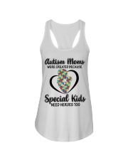 Autism mom Ladies Flowy Tank thumbnail