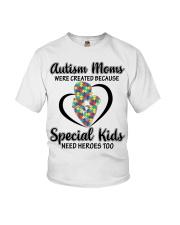 Autism mom Youth T-Shirt thumbnail