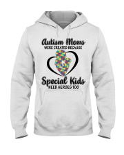 Autism mom Hooded Sweatshirt thumbnail