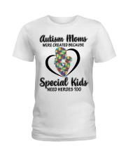 Autism mom Ladies T-Shirt thumbnail