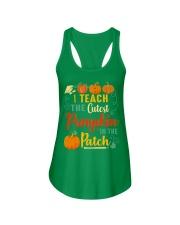 I Teach The Cutest Pumpkin In The Patch Ladies Flowy Tank thumbnail