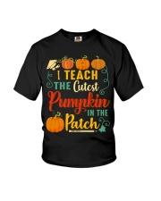 I Teach The Cutest Pumpkin In The Patch Youth T-Shirt thumbnail