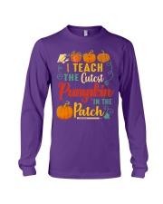 I Teach The Cutest Pumpkin In The Patch Long Sleeve Tee thumbnail