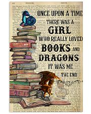 Books Dragons Once Upon A Time Vertical Poster 11x17 Poster front