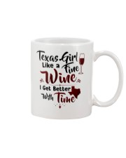 Texas girl like a fine wine Mug tile