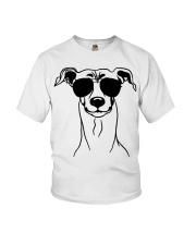 Cute Italian Greyhound Youth T-Shirt tile