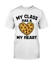 My Class Has A Pizza My Heart Classic T-Shirt tile