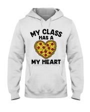 My Class Has A Pizza My Heart Hooded Sweatshirt tile