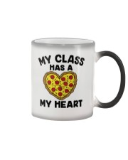 My Class Has A Pizza My Heart Color Changing Mug tile