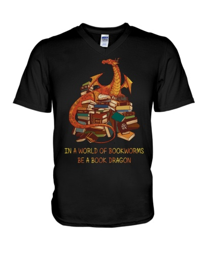 In a would of bookworms be a book dragon