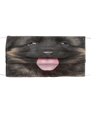 Cute Tongue German Shepherd Face Mask Cloth Cloth face mask front