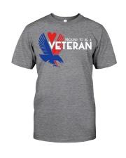Proud to be a veteran  Classic T-Shirt thumbnail