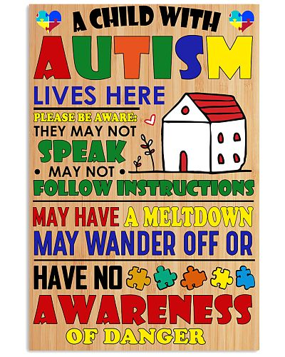 A child with Autism lives here - Limited Edition