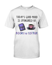 Sponsored By Books And Coffee Classic T-Shirt thumbnail