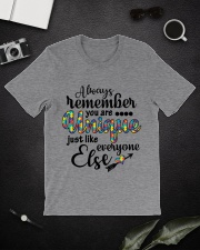 You Are Unique Just Like Everyone Else Classic T-Shirt lifestyle-mens-crewneck-front-16