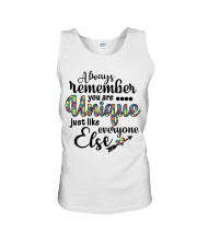 You Are Unique Just Like Everyone Else Unisex Tank thumbnail