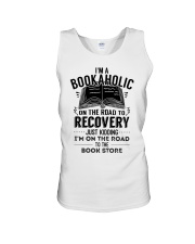 Im A Bookaholic On The Road To Recovery Unisex Tank thumbnail