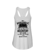 Im A Bookaholic On The Road To Recovery Ladies Flowy Tank thumbnail