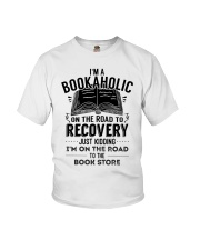 Im A Bookaholic On The Road To Recovery Youth T-Shirt thumbnail