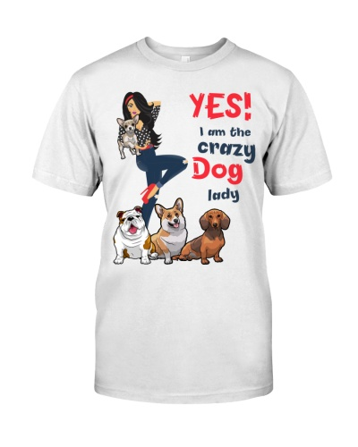 Yes i am the crazy dog lady