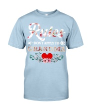 Rules Don't apply to Grandma - Limited Editition Classic T-Shirt tile