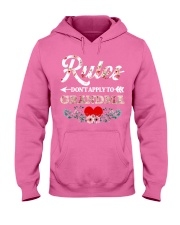 Rules Don't apply to Grandma - Limited Editition Hooded Sweatshirt tile