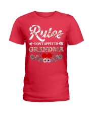 Rules Don't apply to Grandma - Limited Editition Ladies T-Shirt tile