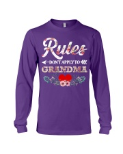 Rules Don't apply to Grandma - Limited Editition Long Sleeve Tee tile