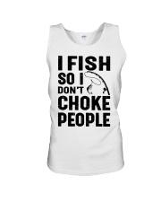 I fish Unisex Tank thumbnail