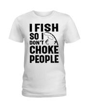 I fish Ladies T-Shirt thumbnail