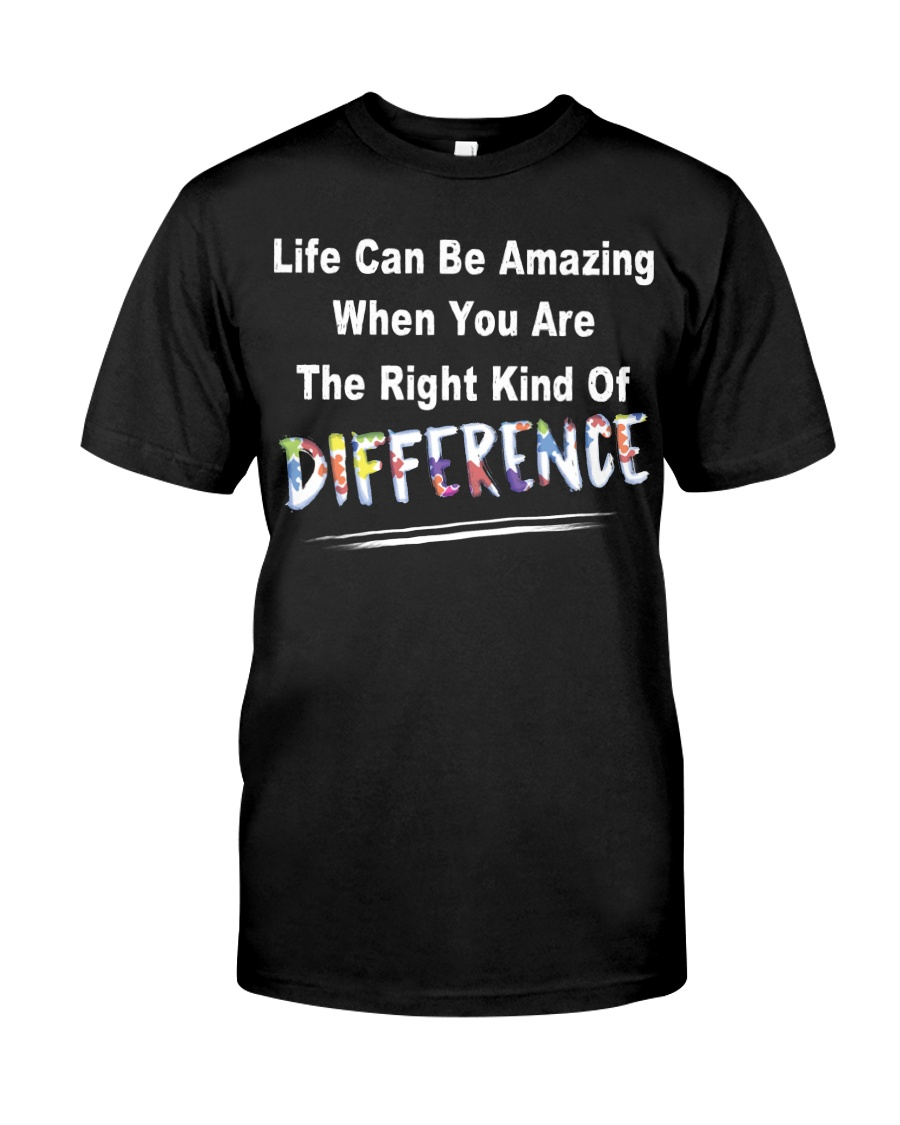 Life Can Be Amazing Autism Classic T-Shirt