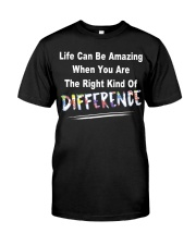 Life Can Be Amazing Autism Classic T-Shirt front