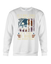 It's Not That I Can And Others Cant Veteran Crewneck Sweatshirt thumbnail
