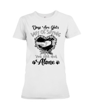 Way Of Saying You Are Not Alone Premium Fit Ladies Tee thumbnail