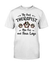The Best Therapist Has Fur Classic T-Shirt thumbnail