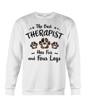 The Best Therapist Has Fur Crewneck Sweatshirt thumbnail