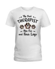 The Best Therapist Has Fur Ladies T-Shirt thumbnail