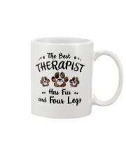 The Best Therapist Has Fur Mug thumbnail