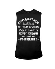 Books aren't made of pages and words Sleeveless Tee thumbnail