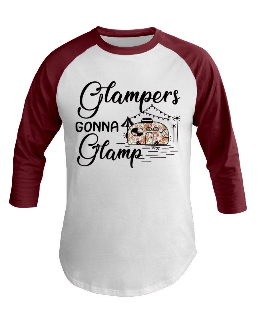 Glampers Gonna Glamp Baseball Tee