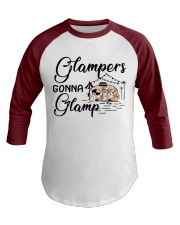 Glampers Gonna Glamp Baseball Tee front