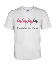 It's ok to be a little different V-Neck T-Shirt thumbnail