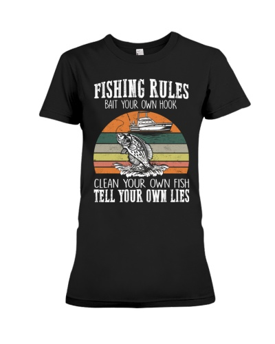 Fishing Rules Tell Your Own Lies